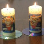 Как выполнить декупаж свечей своими руками