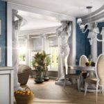 Гостиная в греческом стиле: особенности оформления