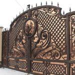 Кованые ворота: все об их преимуществах