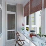 Как на маленьком балконе сделать креативную зону для отдыха