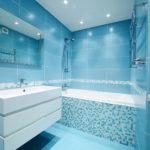 Плитка в ванную: критерии выбора и виды дизайна