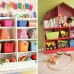 Хранение детских игрушек – креативные идеи