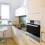 Как расставить мебель чтобы использовать все пространство на маленькой кухне