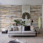 Имитация древесины и дерева в квартире