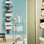 5 способов хранения полотенец в ванной