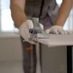 Подготовка гипсокартона: резка, обработка