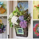 Как украсить входную дверь: креативные идеи