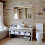 Как правильно сделать ванную комнату в деревянном доме