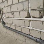 Наиболее распространенные проблемы при монтаже труб в стене