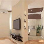 Как квартиру студию превратить в двухкомнатную квартиру