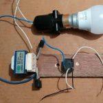 Простой инвертер без транзисторов