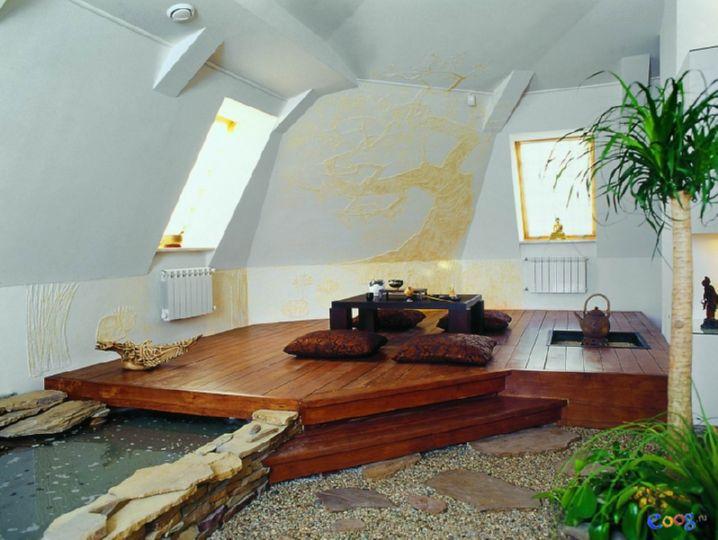 Как сделать дома чайную комнату в восточном стиле