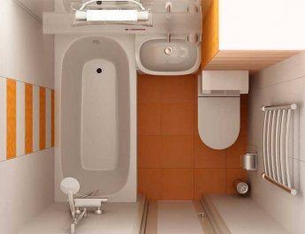Подводные камни объединения ванной с туалетом