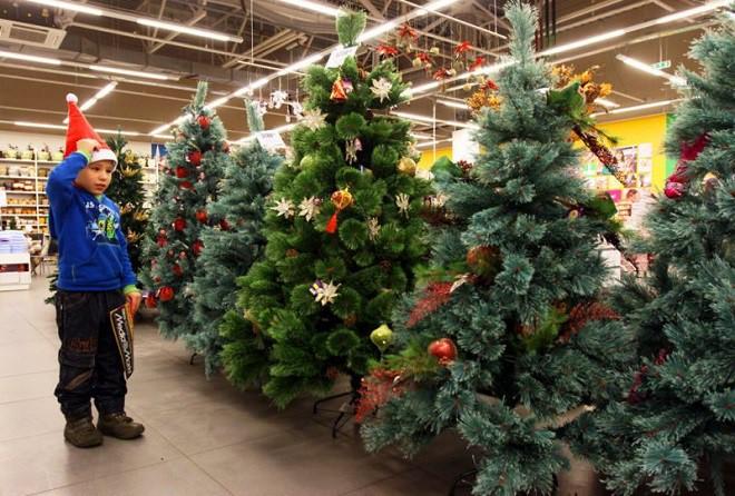 Покупка искусственной елки