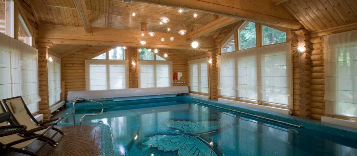 Собственная баня с бассейном – это возможно!