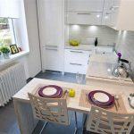 Какие решения в дизайне делают кухню теснее