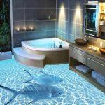 Каким не стоит делать пол в ванной