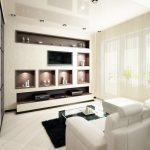 Как сделать креативные ниши в стене гостиной