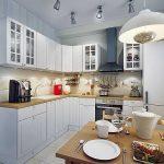 как правильно расположить освещение на кухне