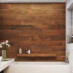 Необычные варианты отделки стен в ванной
