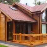 Почему дом из бруса надо строить зимой