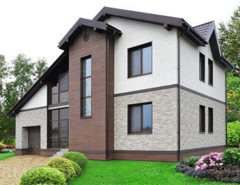 Как придать красивый вид дому снаружи с небольшим бюджетом
