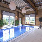 Реально ли сделать у себя дома горячий бассейн зимой?
