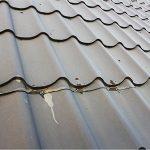 Чем залить место протечки на крыше