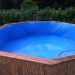 Самодельный бассейн за копейки