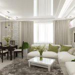 Как визуально увеличить маленькую гостиную