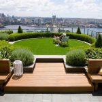 Как красиво озеленить крышу частного дома