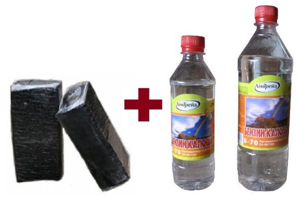 Как изготовить битумную мастику