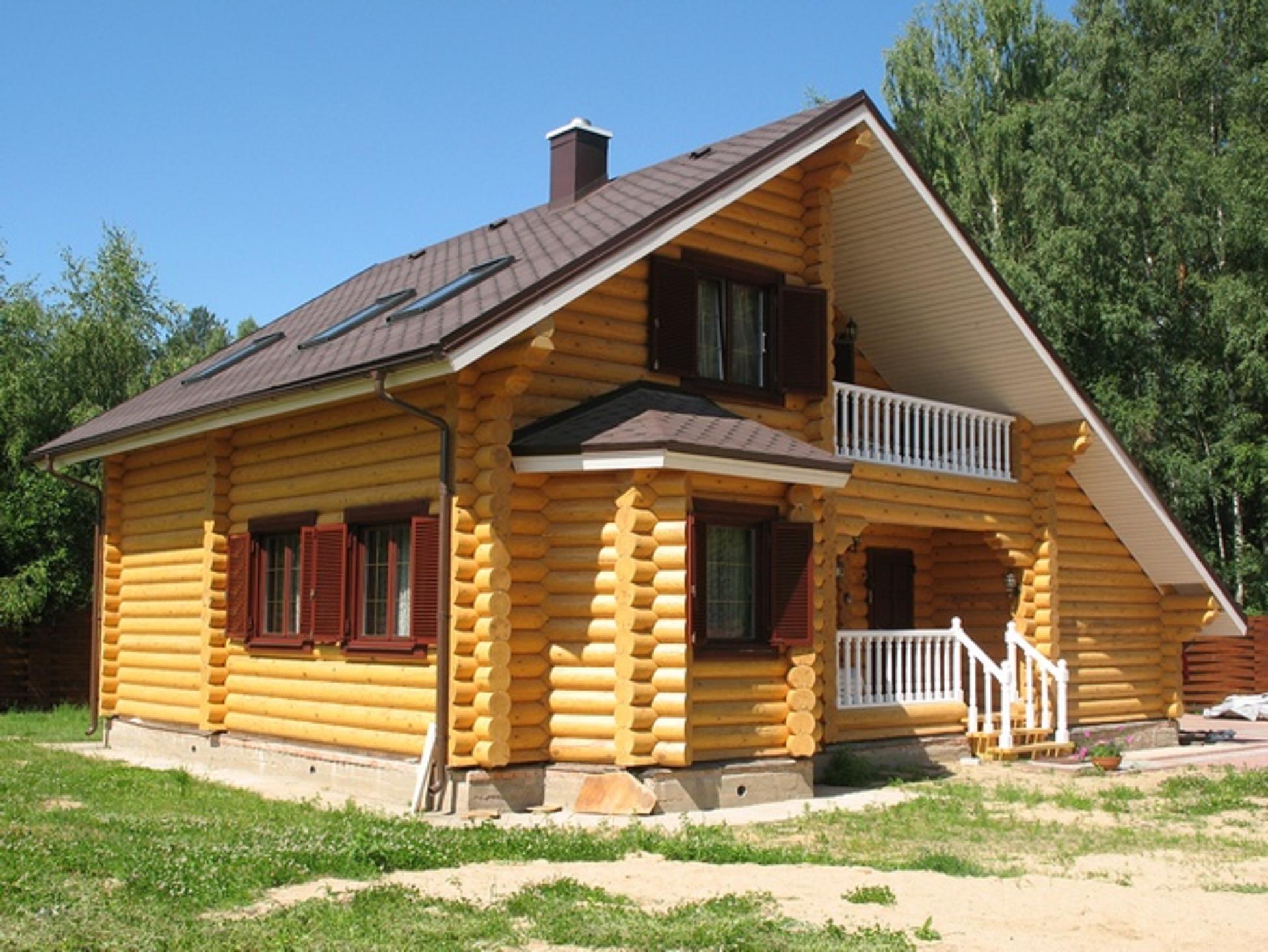Брусовые дома