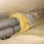 Какой материал не подойдет для утепления водопровода в траншее