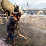 Как нельзя замешивать бетон для заливки в мороз