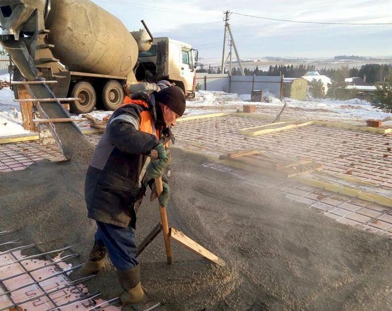 затворять бетон