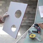 Как отрезать или просверлить плитку, уложенную на стену