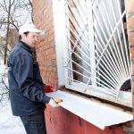 Как быстро установить водоотлив на любое окно
