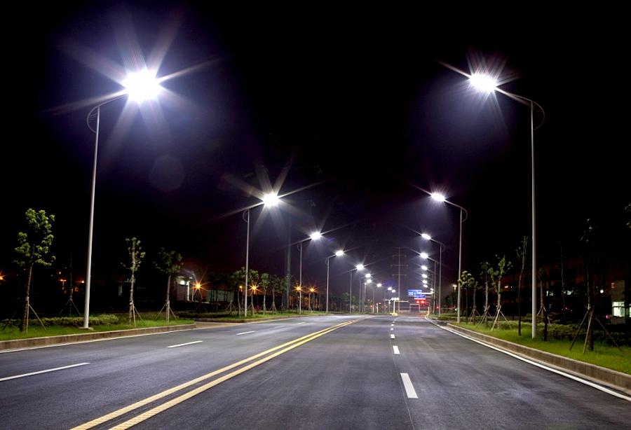 Уличные светильники led