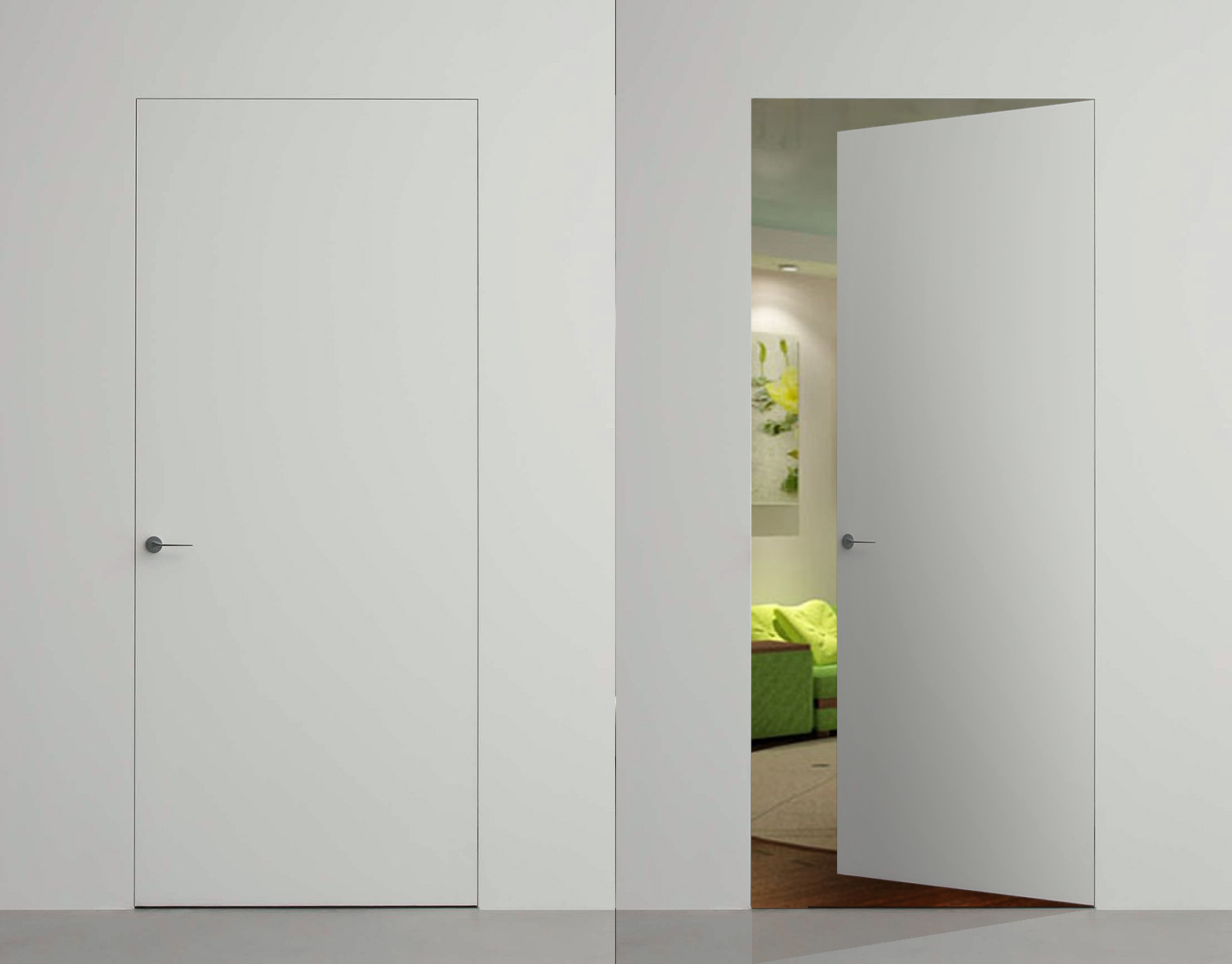 Основные особенности скрытых межкомнатных дверей
