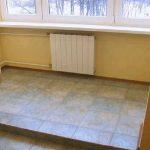 Какими неприятностями грозит перенос отопления на балкон