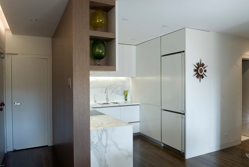 """Как законно перенести """"мокрую зону"""" кухни в квартире-студии"""