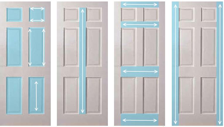5 причин почему краска на двери может пойти пятнами