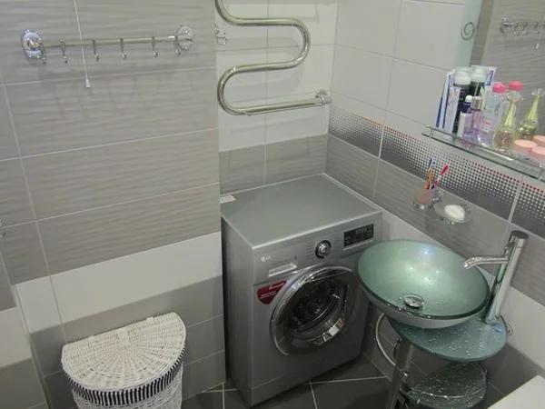 Почему не стоит вешать полотенцесушитель над стиральной машиной