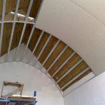 В каких помещениях нельзя делать арочный потолок