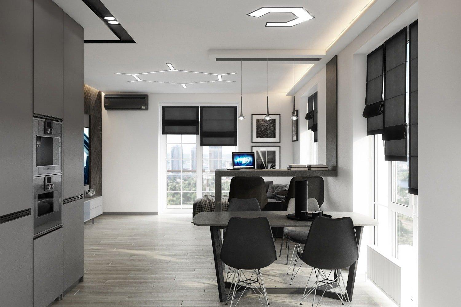 Как создать единый дизайн помещения