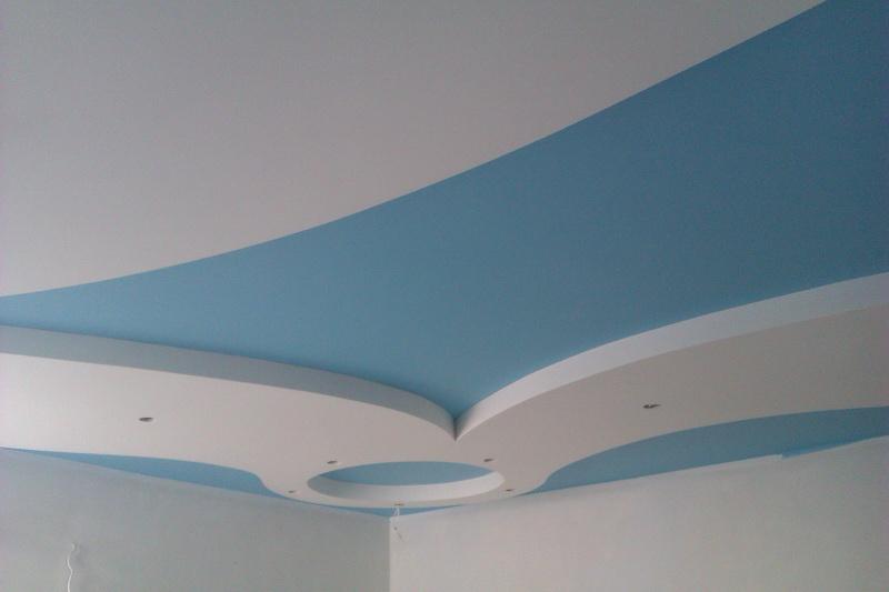 5 идей как красиво покрасить потолок