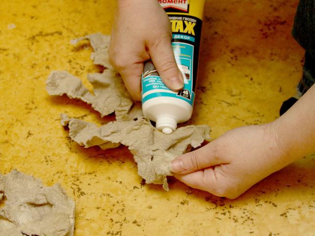 Как снять материал, приклеенный с помощью жидких гвоздей