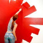 Что делать если свежая краска на полу сморщилась и потрескалась