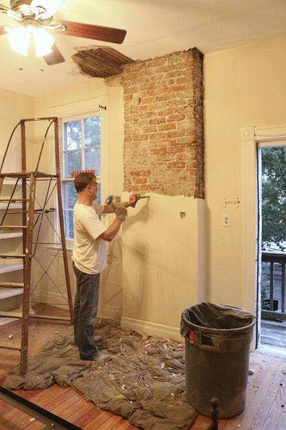 5 уловок от строителей чтобы легко и быстро смыть старую штукатурку